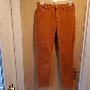 New Michael KORS 5 pocket Jean's, Maple Leaf Sz 10